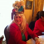 Holiday hat fashionista - Penny Richie!
