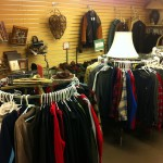 Three rounder racks of men's shirts & great finds!