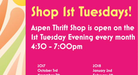 Shop 1st Tuesdays!