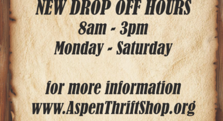 New Drop Off Hours!
